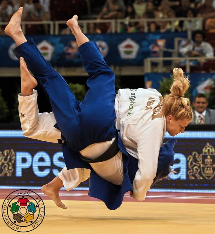 Kayla Harrison (USA) - Grand Prix Budapest (2015, HUN) - © IJF Media Team, IJF