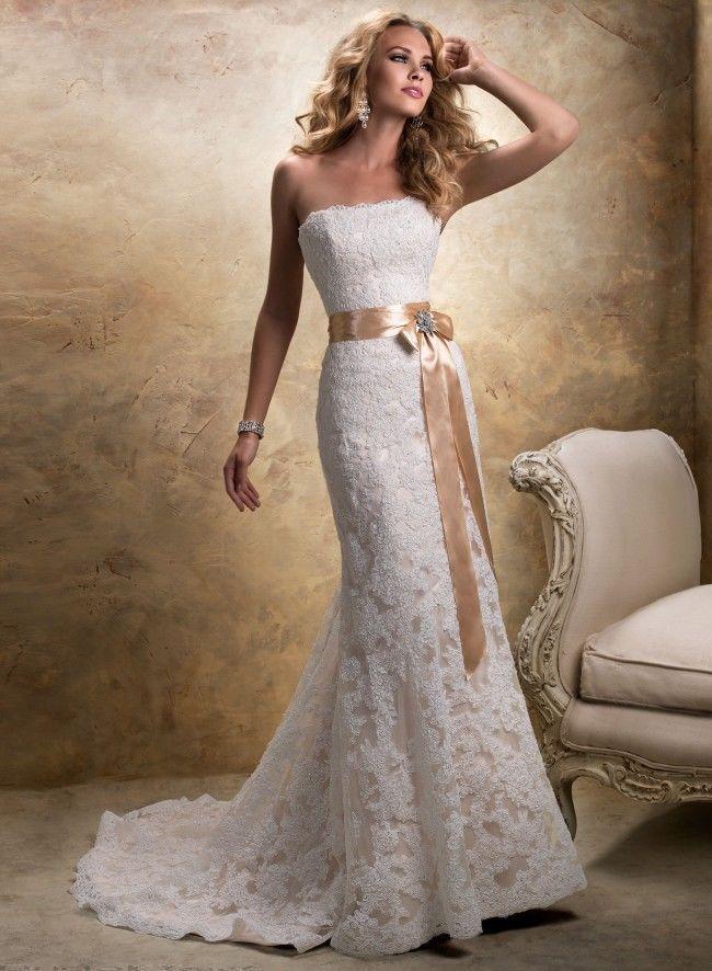 Details About Size22maggie Sotterowedding Gownbridal Dress