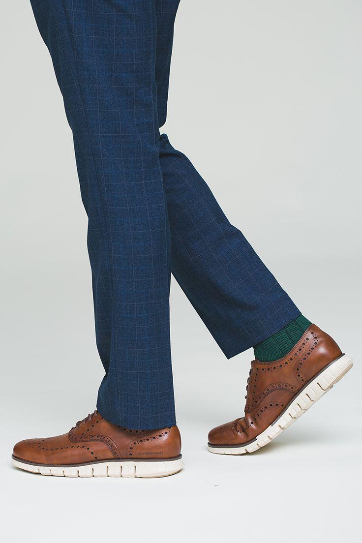 Cole Haan ZeroGrand Wing Oxford: Wingtips with the comfort of your favorite sneakers.