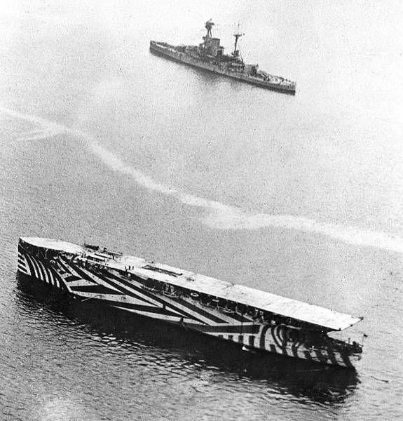 bateau furtif dazzle painting wold war guerre 14 Le Dazzle camouflage, les bateaux furtifs de la première guerre mondiale