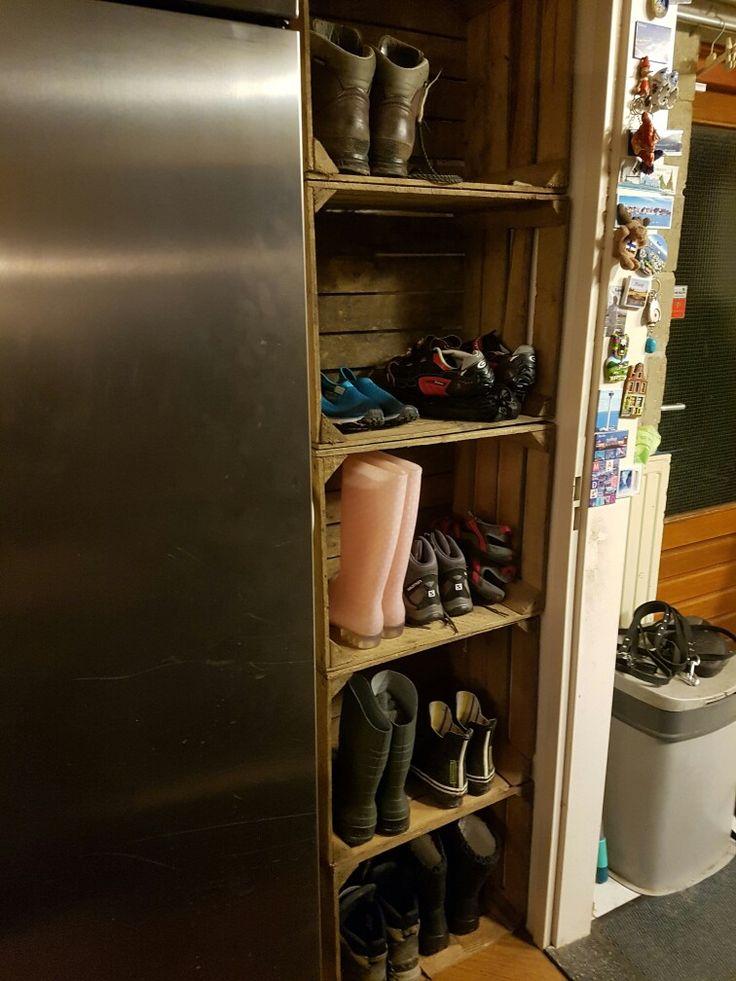 Mooie oplossing voor laarzen en schoenen!
