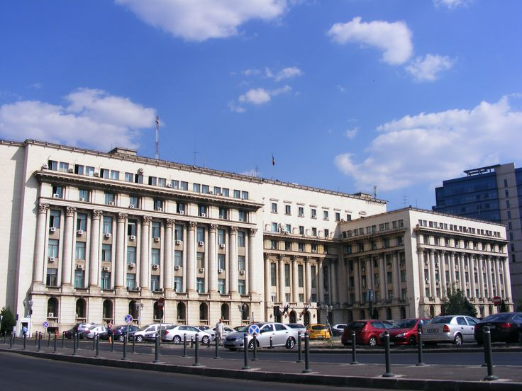 Bucharest, Former Headquarters of the Communist Party from where communist dictator, Nicolae Ceausescu flew in 1989.  This is the place where Romanian Anticommunist Revolution took part in 1989. More than 1100 ere killed. http://www.touringromania.com/regions/bucharest.html