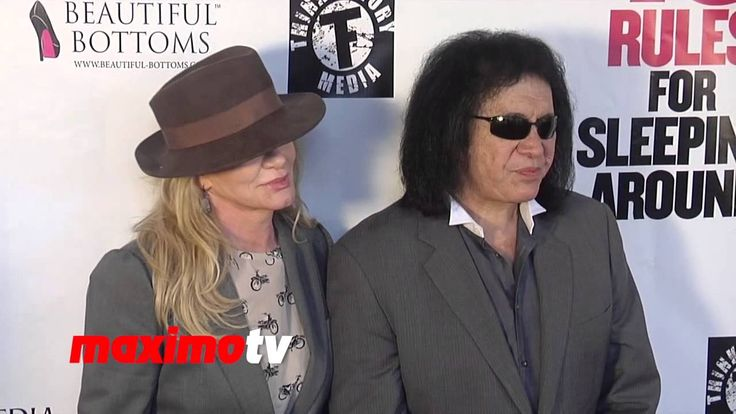 """Shannon Tweed and Gene Simmons """"10 Rules of Sleeping Around"""" Premiere #KISS"""