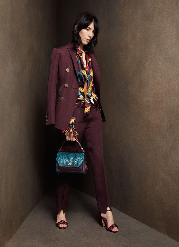 Bally Pre-Fall 2016 Fashion Show #suit #workwear #officewear