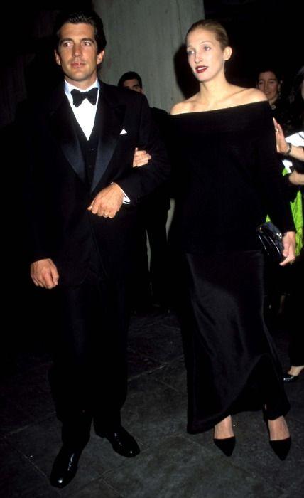 Carolyn Bessette Kennedy with JFK, Jr.