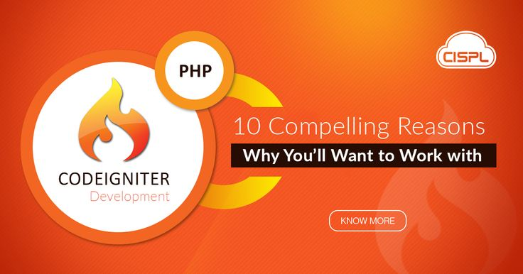 CodeIgniter has very few server requirements, making it our developers' #1 PHP Framework. Read on to find out more about CodeIgniter's Top 10 key features!  #CodeIgniter #CodeClouds