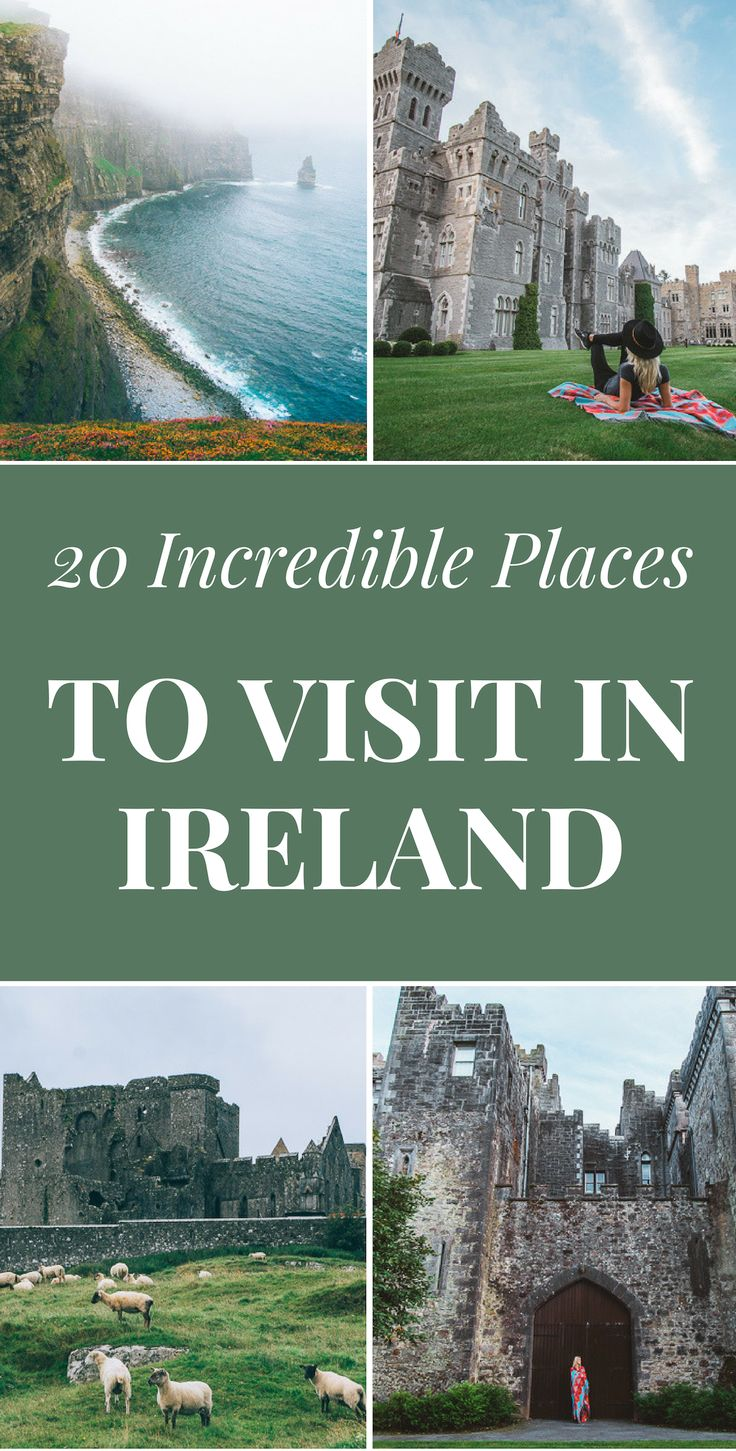 Ireland is one incredible place to visit if you know where to go and what to see…