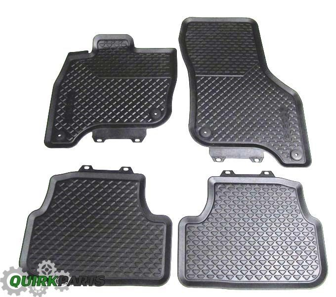 Awesome Awesome 2015-2017 VW Volkswagen e-Golf Euro Rubber Floor Mats Set GENUINE OEM BRAND NEW 2017-2018