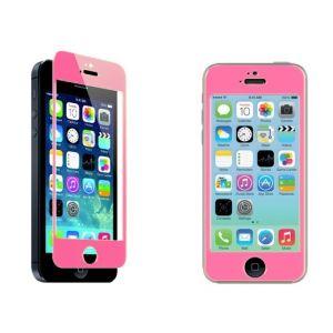 Protector de pantalla para iPhone 5 de CRISTAL TEMPLADO en colores. Este material es muy resistente ante todo tipo de daños.  Su grosor es solo 0,5mm , pero lo suficiente para soportar fuertes impactos. Su instalación es mucho más sencilla que la de los protectores de plastico y no deja burbujas al ser rígido. -Tactil 100% funcional. -Valido para iPhone 5 / 5S / 5C #protectorpantalla #cristaltemplado #iphone5 #iphone5sd #iphone5c