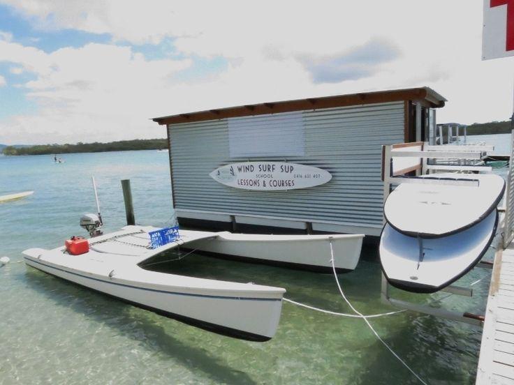Catamaran conversion to power | Small Catamarans ...