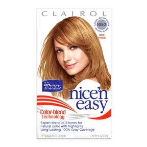 Clairol Nice N Easy Hair Color Sunlit Collection Natural