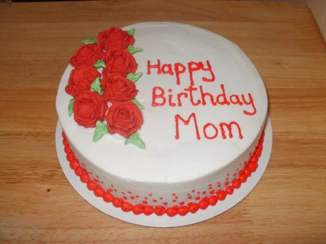 Fantastic 32 Inspired Picture Of Mother Birthday Cake With Images Personalised Birthday Cards Beptaeletsinfo