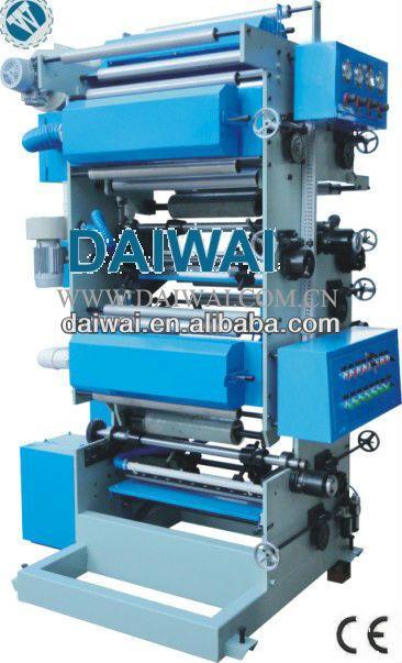 Plastic Film/Plastic bag Rotogravure Printing machine DW-R Series Direct Gravure Printing Machine
