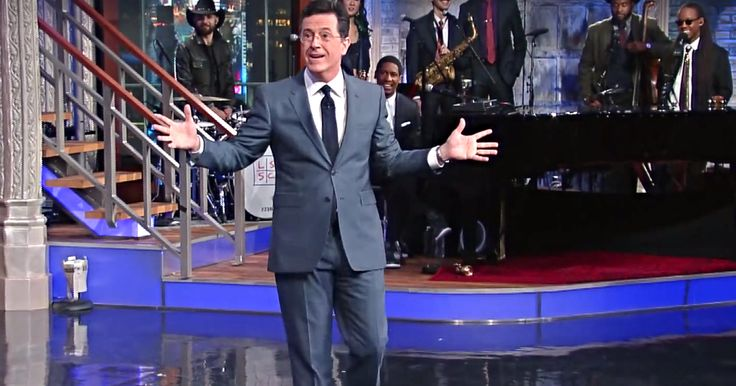 How he met his wife: Colbert knows how to tell a story. MASTERFUL <3