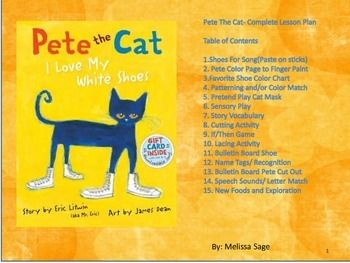 287 best images about Theme: Pete the Cat on Pinterest ...