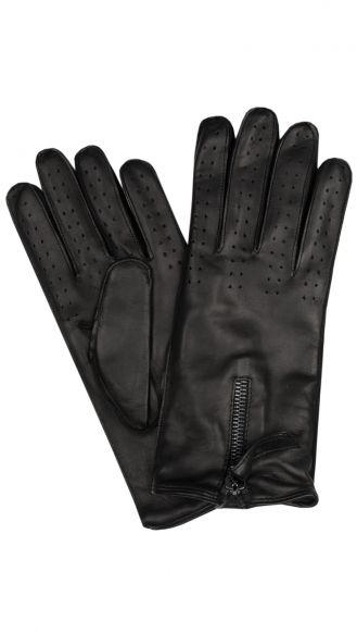 John Varvatos leather gloves