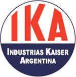 Logo IKA, Industrias Kaiser Argentina