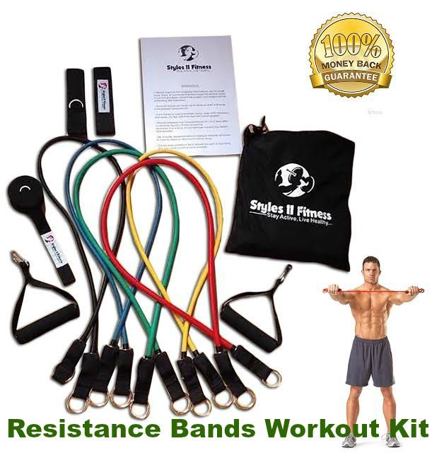 7 Best Resistance Bands Images On Pinterest