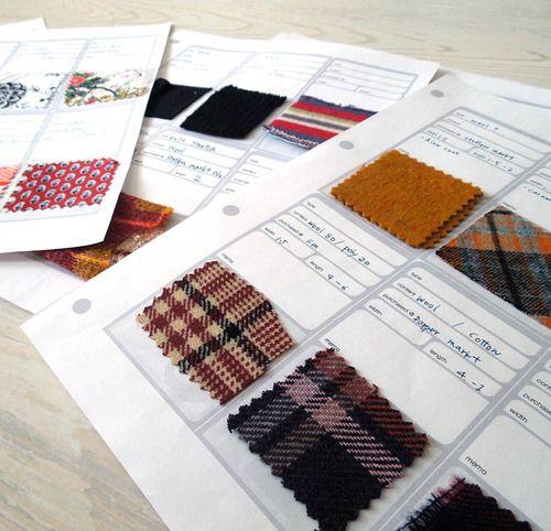 Freebee! ** Make your Fabric Sample Book **