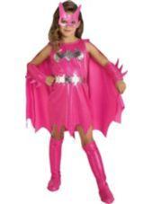 Girls Pink Batgirl Costume -Superhero Costumes-Girls Costumes-Halloween Costumes-Party City