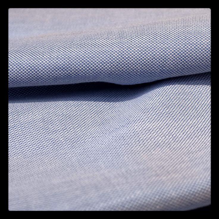 Carlo Rivera oxford cloth made with cotton cashmere blend