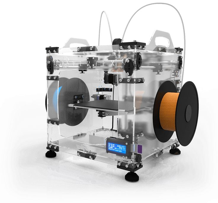 Dual head 3D printer kit. Easy, accurate, affordable & Open Source
