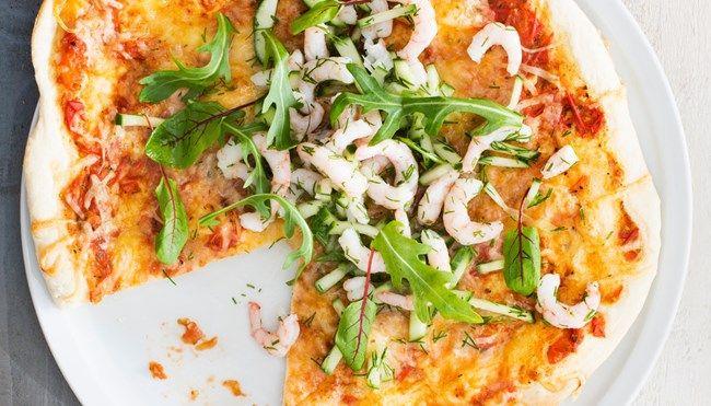 Katkarapupizza margarita - K-ruoka