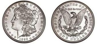 Morgan Dollars with link to graded examples