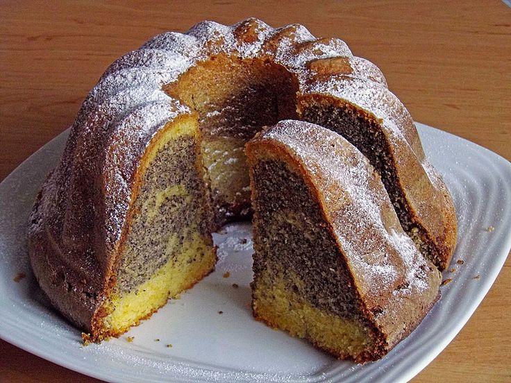 Mohn - Vanille - Gugelhupf, ein schönes Rezept mit Bild aus der Kategorie Kuchen. 25 Bewertungen: Ø 4,4. Tags: Backen, Kuchen