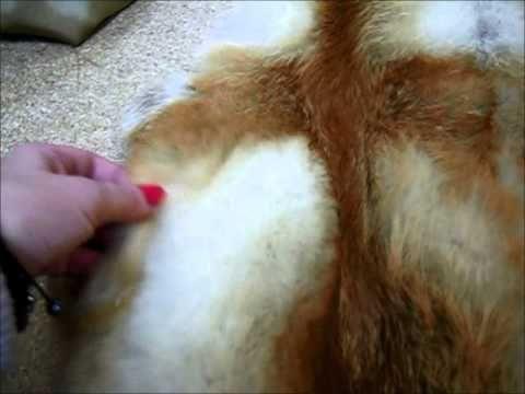 Вязаная лиса: как НЕ правильно вязать разноцветный мех - YouTube