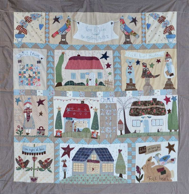 BORN TO QUILT Les Quilt Mystère de BORN TO QUILT