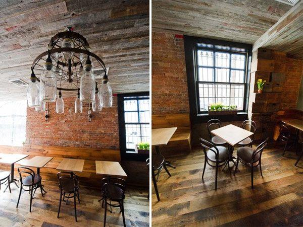 Like The Mason Jar Lighting Rustic Restaurant DesignRestaurant InteriorsBike