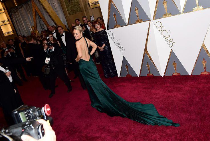 Rachel McAdams nunca falla y luce así de divina en los Oscar 2016...