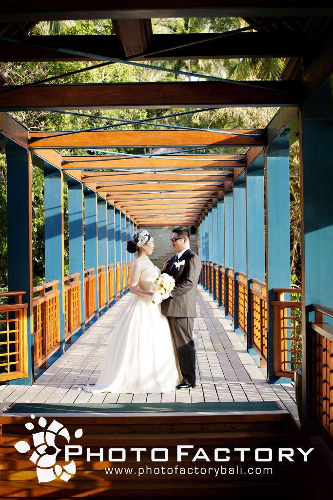 A romantic wedding getaway at Four Seasons Resort Bali at Sayan.