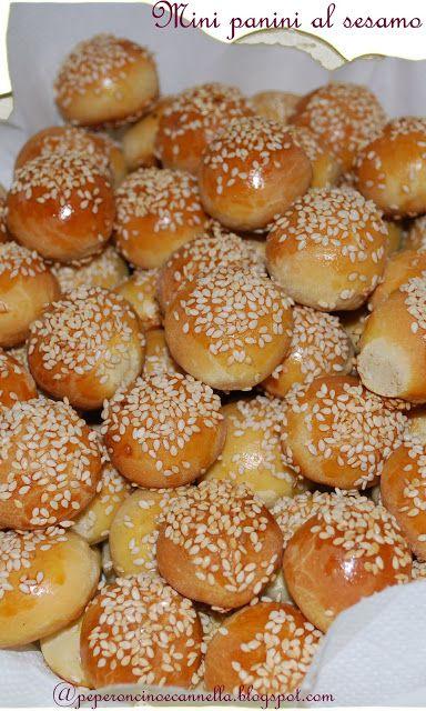 Ricetta Mini panini al sesamo da Peperoncino & Cannella