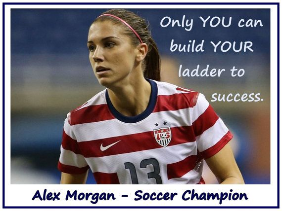 The 25 best alex morgan quotes ideas on pinterest morgan soccer soccer poster alex morgan soccer champion photo quote by arleyart voltagebd Image collections