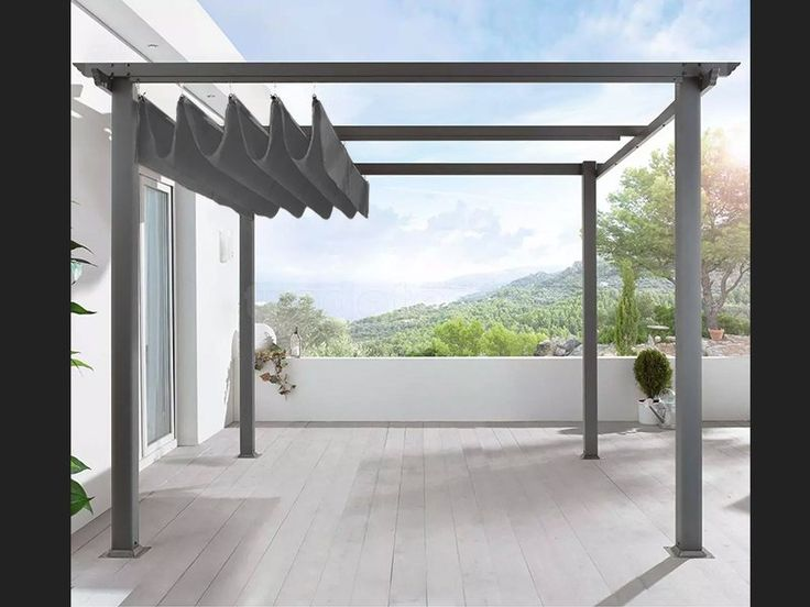 free standing pergola aluminium 3m x 4m garden outdoors pinterest free standing pergola. Black Bedroom Furniture Sets. Home Design Ideas