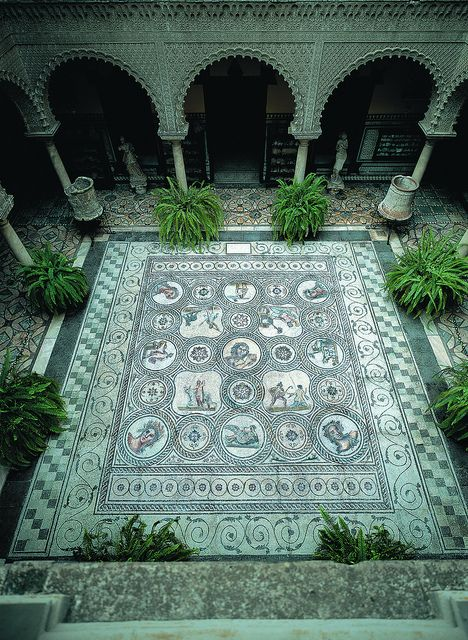 Casa Palacio Condesa de Lebrija, Seville, Spain -- I can just imagine sitting out in the courtyard with a great book and a big glass of ice tea!