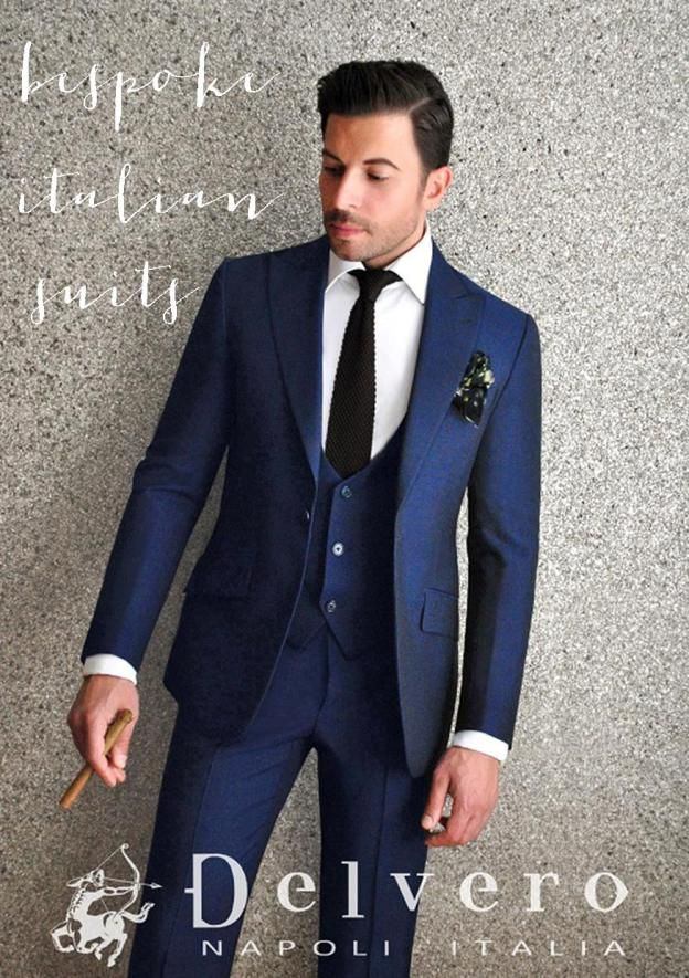 231 best Bespoke 3 Piece Suits images on Pinterest | Menswear ...