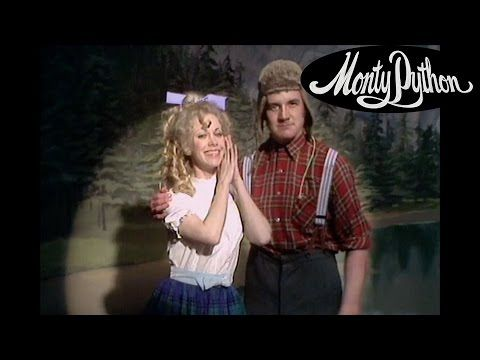 Monty Python's Flying Circus - Lumberjack song - YouTube