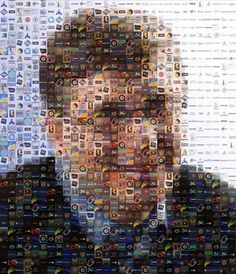 How to Make Your Own Photo Mosaics tutorial. Be a great guest book idea have a photo booth and use everyone's photos to make a photo mosaic of the guest of honor