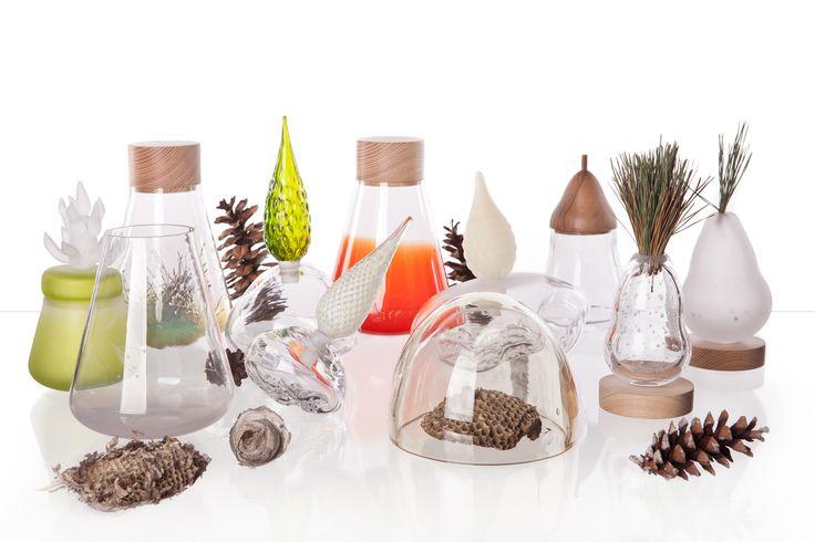 Česká skupiny designérů Vyrobeno Lesem vytváří doplňky tématicky laděné právě lesem. Kolekce Pharmaceutical je dílem Michaely Tomiškové.