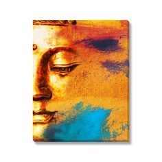 'Abstract Buddha' is printed on artist grade canvas using the highest quality latex inks. The art arrives ready to hang.