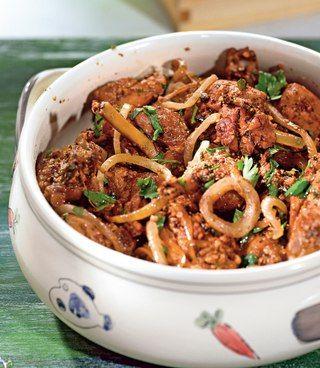 Гурули, грузинское блюдо из курицы