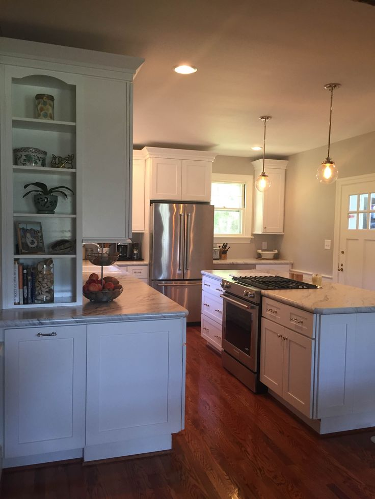 White Shaker Cabinets   RTA Elite White Shaker Cabinets By Lily Ann