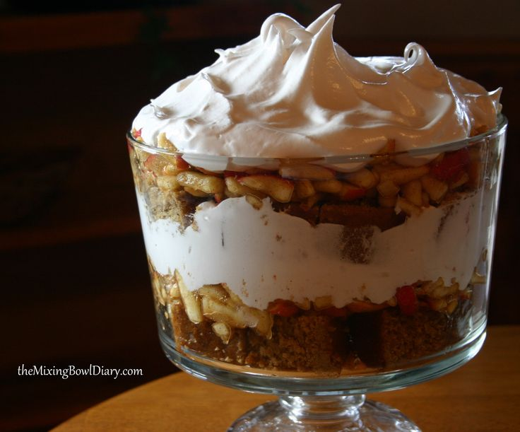 Gluten Free/Dairy Free Pumpkin Cake with Sweet Apples and Cream