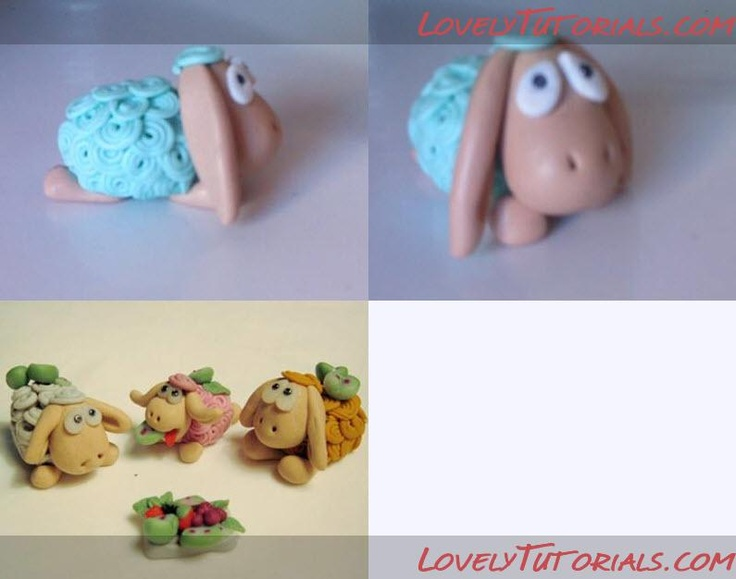 Tutorial Modelado de ovejas: Cakes N Mor, Sheep Cakes, Cakes Toppers Tutorials, Cakes Decor, Cake Topper Tutorial, Cake Toppers