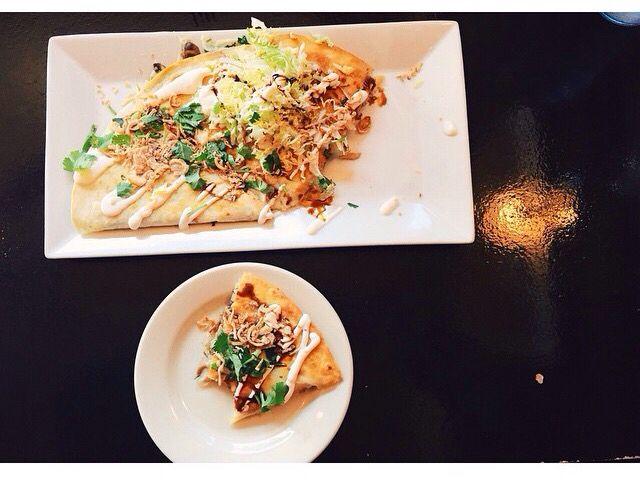 Mushroom quesadilla from Boka Tako Bar Richmond, VA from @eatgud
