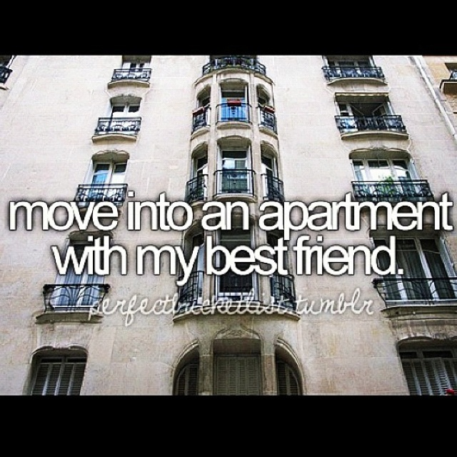 Live with friends.: Big Cities, Bucketlist, Cant Wait, My Best Friends, Buckets Lists, Bestfriends, College, Apartment, House