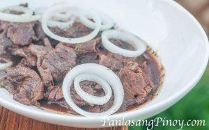 Bistek Tagalog Recipe (beefsteak)